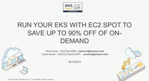 Containers Day - EKS Spot instances workshop