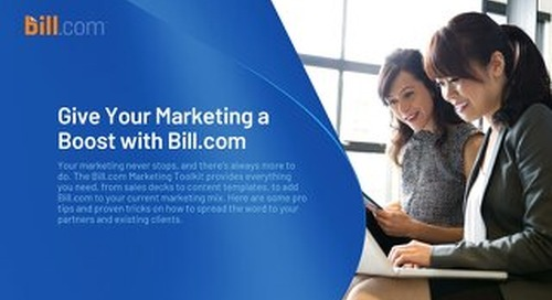 Marketing Bill.com for Large Firms