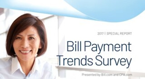 2017 Bill Payment Trends Survey