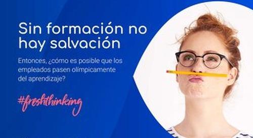 SIN FORMACIÓN NO HAY SALVACIÓN