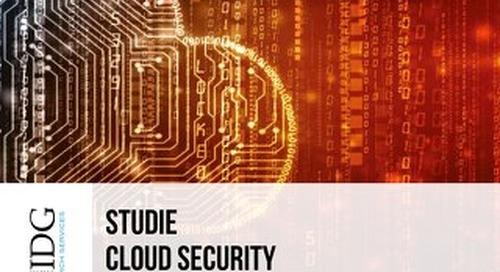 IDG Studie: Cloud Security 2019
