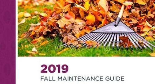 2019 Fall Maintenance Guide
