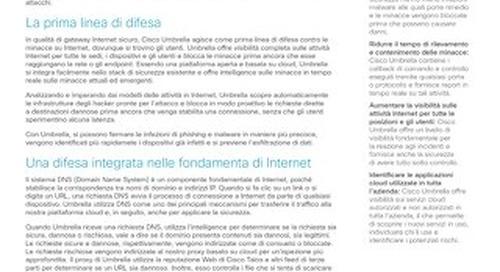 Panoramica di Cisco Umbrella