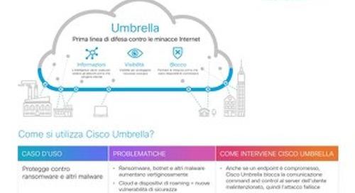 Motivi per provare Cisco Umbrella