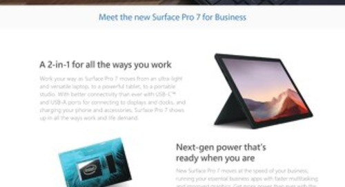 Surface Pro 7 for Business