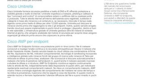 Affrontare tutte le fasi dell'attacco con Cisco Umbrella e Cisco AMP for Endpoints