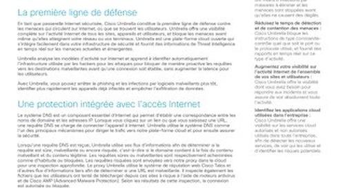 Présentation de Cisco Umbrella