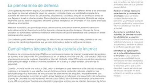 Guía rápida de Cisco Umbrella