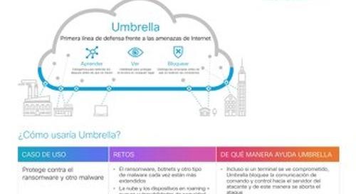 Por qué debería probar Cisco Umbrella