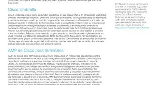 Cómo hacer frente a todo el ciclo de ataque con Cisco Umbrella y AMP de Cisco para terminales