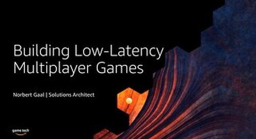 Game Server Hosting with AWS Game Tech Presentation