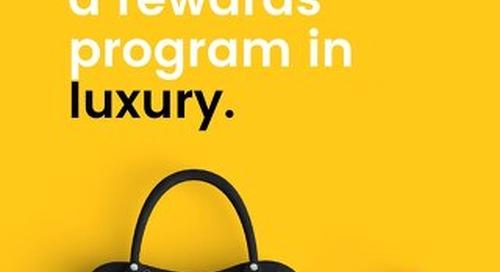 How to Build a Rewards Program in Luxury Goods