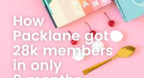 How Packlane got 28k members in only 8 months