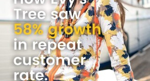 How Evy's Tree saw 58% growth in repeat customer rate.