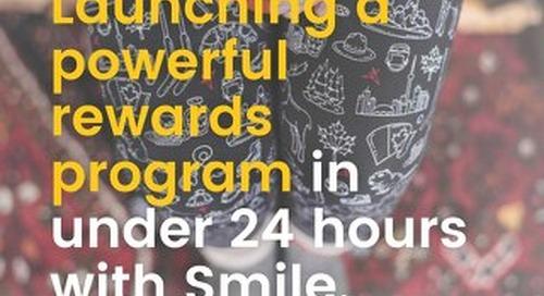 Launching a powerful rewards program in under 24 hours - SweetLegs Case Study