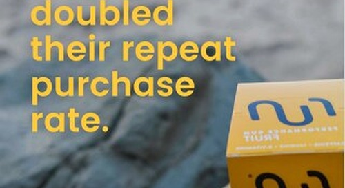 How Run Gum doubled their repeat purchase rate