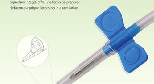 L'aiguille pour fistule artérioveineuse (FAV) Harmony  de JMS