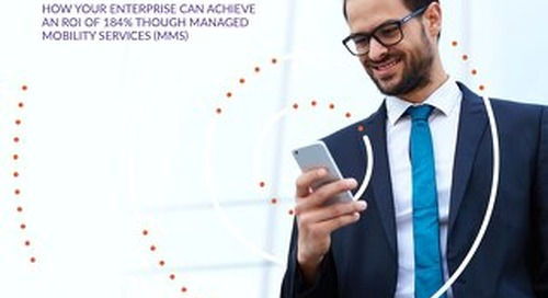 The Cost of Not Acting: How Your Enterprise Can Achieve an ROI of 184% Through Managed Mobility Services (MMS)