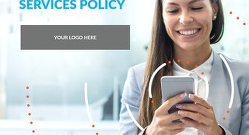 Wireless Analytics - Mobile Services Policy Sample