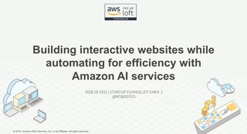 AI&ML Day - Building interactive websites while automating for efficiency
