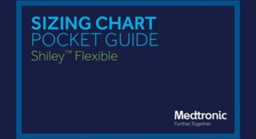 SIZING CHART POCKET GUIDE - Shiley™ Flexible (A Codes)