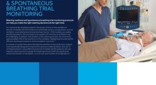 WEANING READINESS & SPONTANEOUS BREATHING TRIAL MONITORING