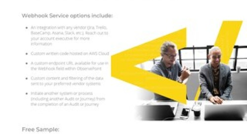 ObservePoint Webhook Integration Service
