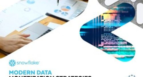 Modern Data Monetization Strategies