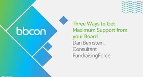 Three Ways to Get Maximum Support from your Board