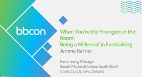 When You're the Youngest in the Room: Being a Millennial in Fundraising