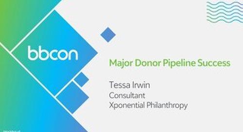 Major Donor Pipeline Success