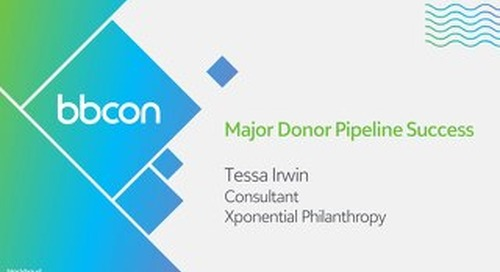 Major Donor Pipeline Success