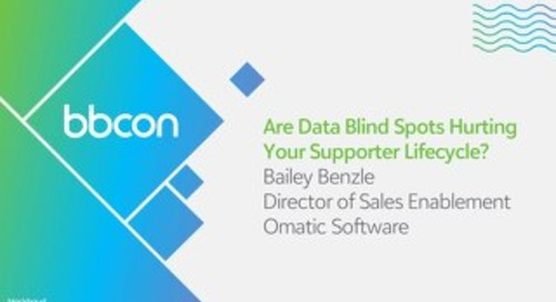 Are Data Blind Spots Hurting Your Fundraising Effectiveness?