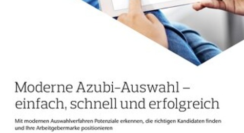 Azubi-Auswahl Infoflyer