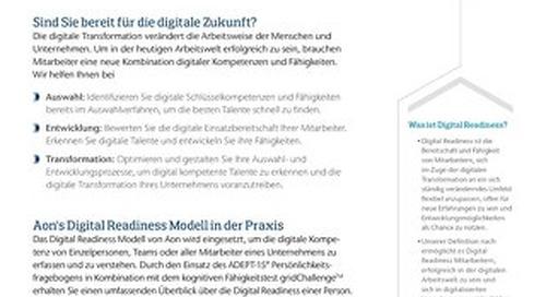 Digital Readiness Infoflyer