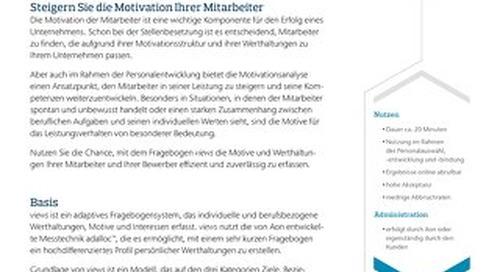 Motivationsfragebogen Infoflyer