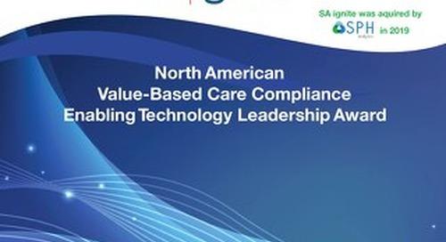 2017 Frost & Sullivan Value-Based Care Enabling Technology Leadership Award