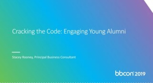 Cracking the Code:  Engaging Young Alumni