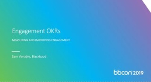 Engagement OKRs
