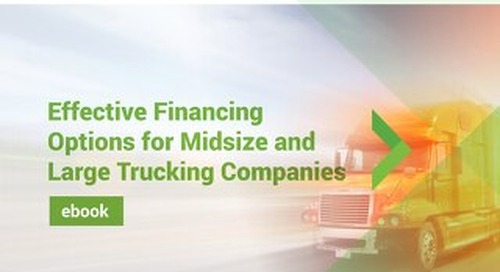 Effective Financing Options for Midsize and Large Trucking Companies