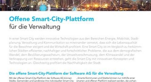 Offene Smart-City-Plattform für die Verwaltung