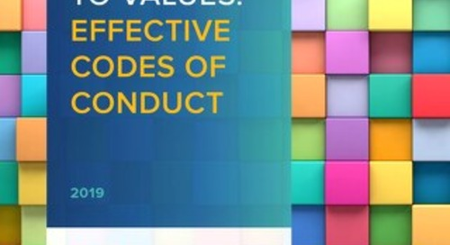 2019 Code of Conduct Report