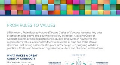 From Rules to Values