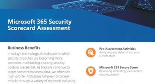 Security Scorecard Assessment Flyer 2019