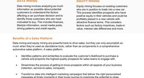 Equity Mining vs Data Mining Why Your Dealership Needs a Sales Platform