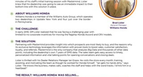 Williams Honda