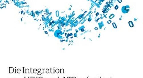 Technische Integration Infoflyer