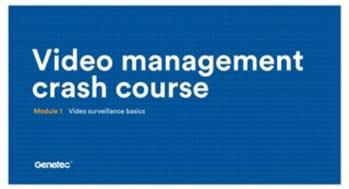 Video surveillance basics presentation