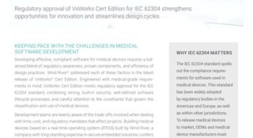 Developing Reliable Medical Devices with Confidence