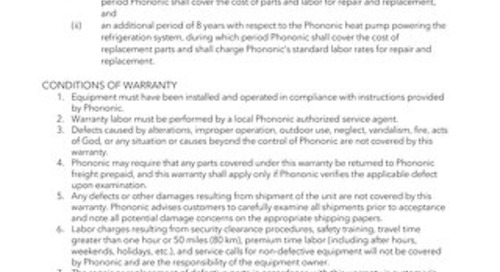 Evolve Warranty
